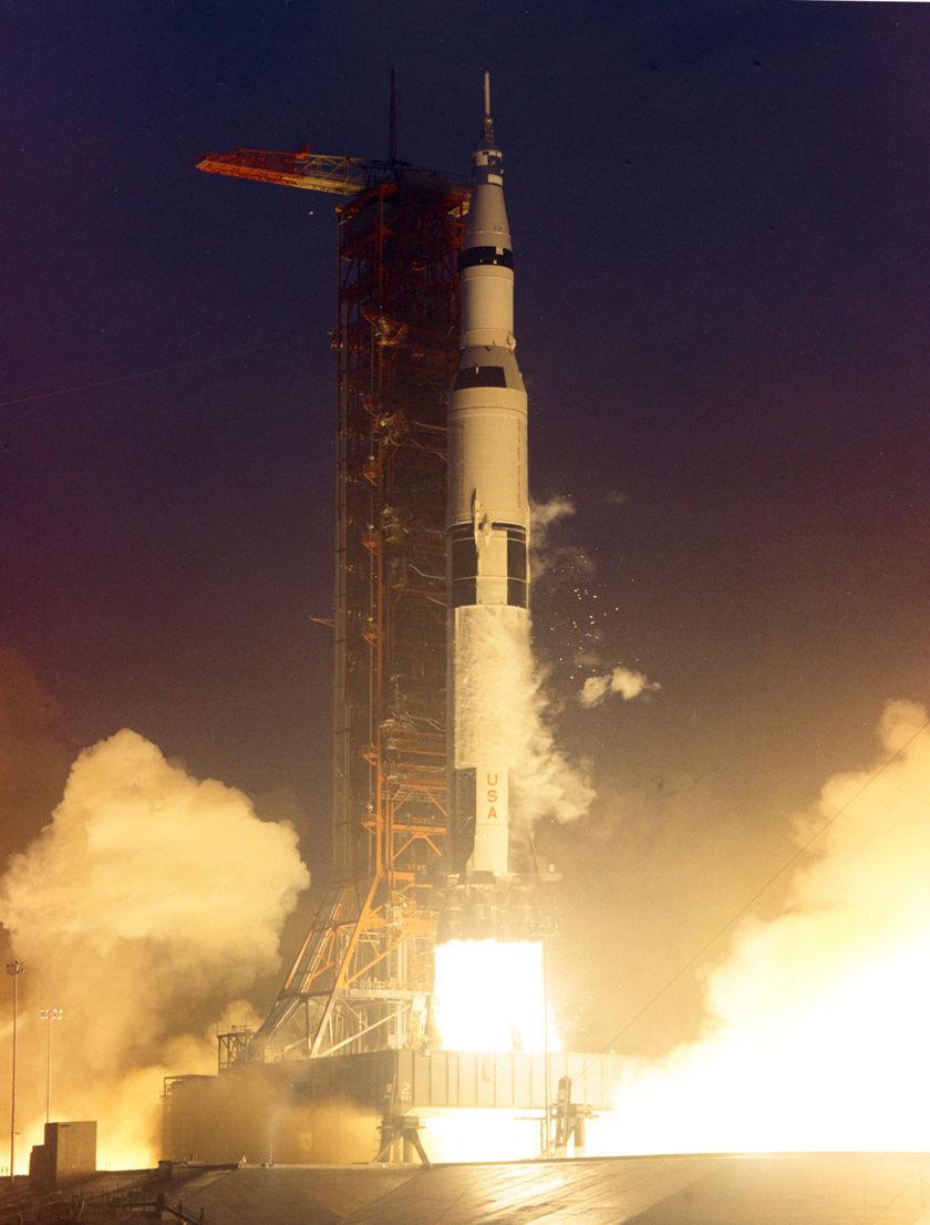 Apollo 12 Liftoff