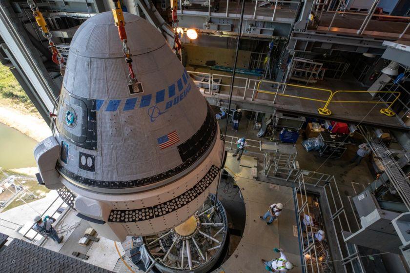 Starliner Meets its Atlas V Rocket