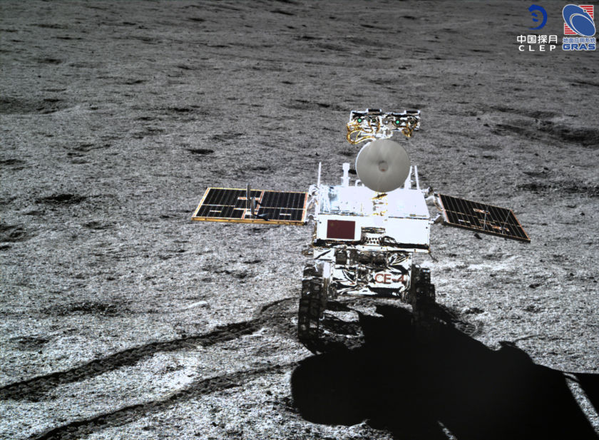Yutu-2 Rover in High Resolution