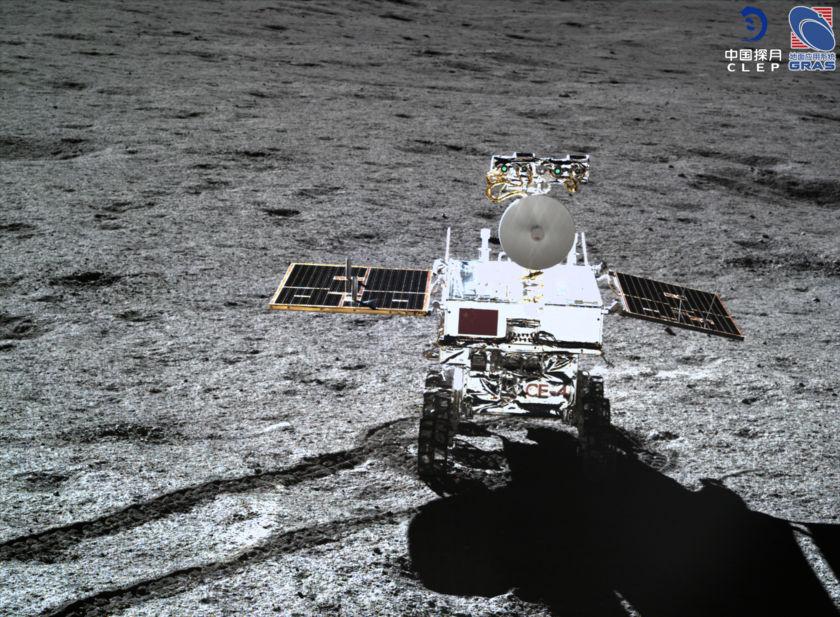 Yutu-2 Rover in High Resolution