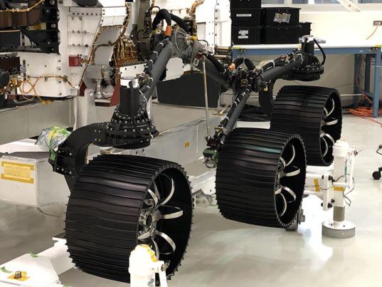 Mars 2020 wheels