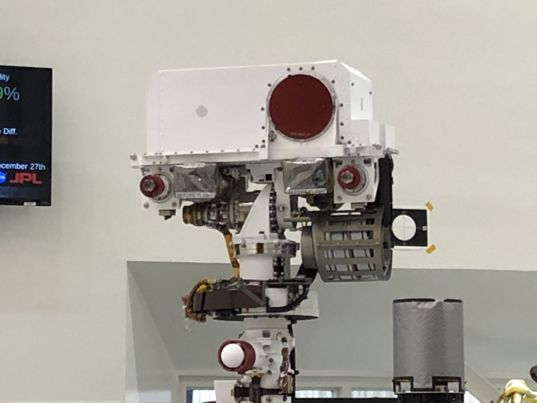 Mars 2020 SuperCam and Mastcam-Z