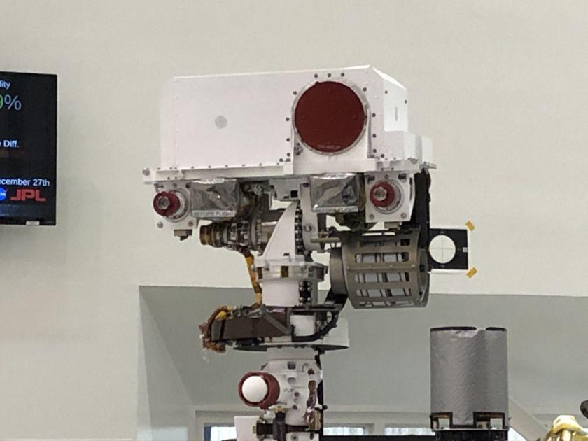 Mars 2020 SuperCam and Mastcam-Z