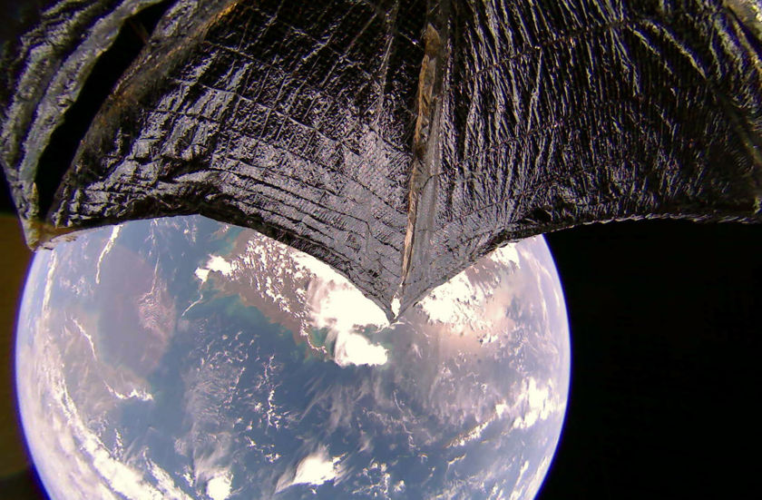 Australia and New Guinea from LightSail 2