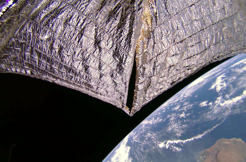 Madagascar from LightSail 2