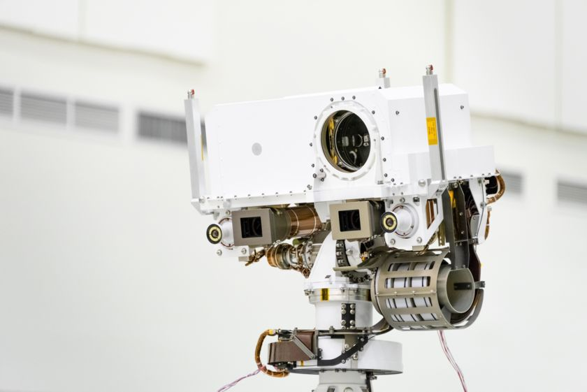 A Portrait of Mars 2020 in the JPL Clean Room, 23 July 2019