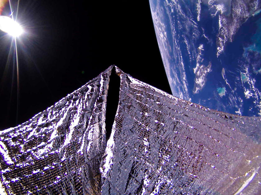 LightSail 2 sees Cuba and the island of Hispaniola