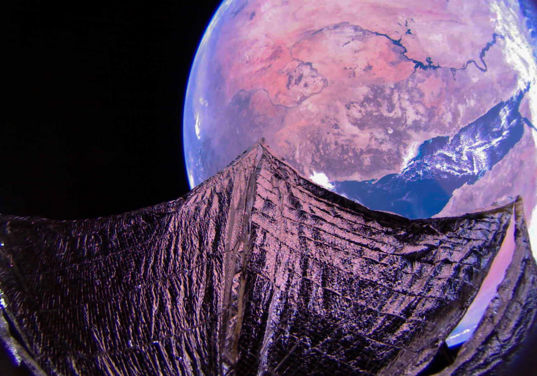 The Red Sea and Nile River from LightSail 2