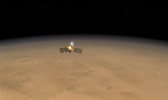 The Mars Reconnaissance Orbiter and the Martian Horizon