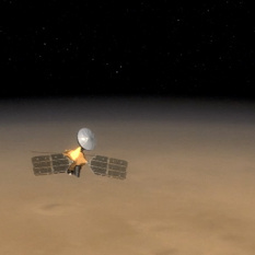 The Mars Reconnaissance Orbiter and the Martian Horizon