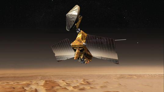 The Mars Reconnaissance Orbiter