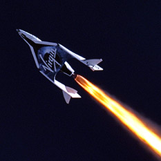 Virgin Galactic's SpaceShipTwo first powered flight
