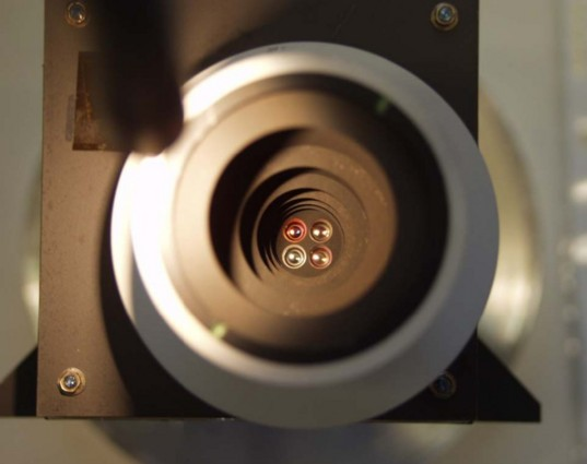 Looking down the barrel of the Venus Monitoring Camera