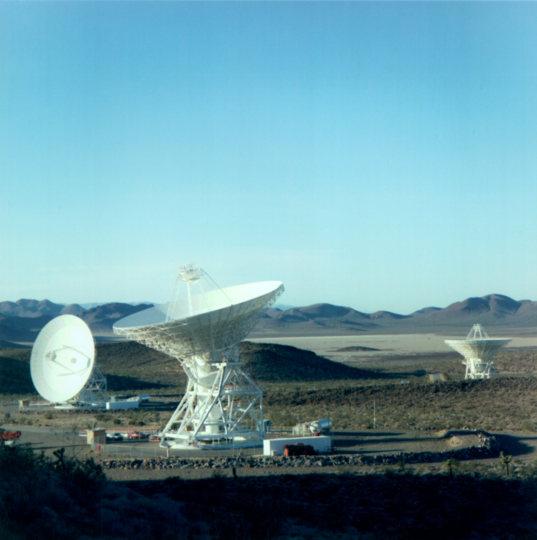 34-meter antennas at Goldstone