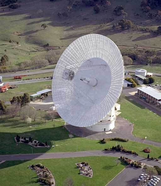 DSS-43, the 70-meter antenna at Canberra