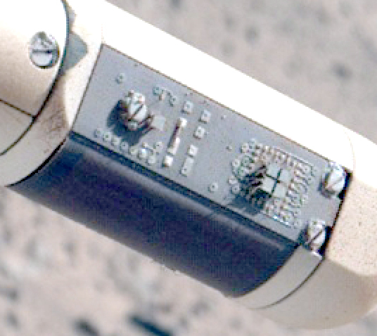 Detail view of REMS sensor boom 1, sol 526, rear view
