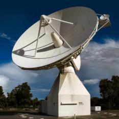 ESA's Perth radio tracking station
