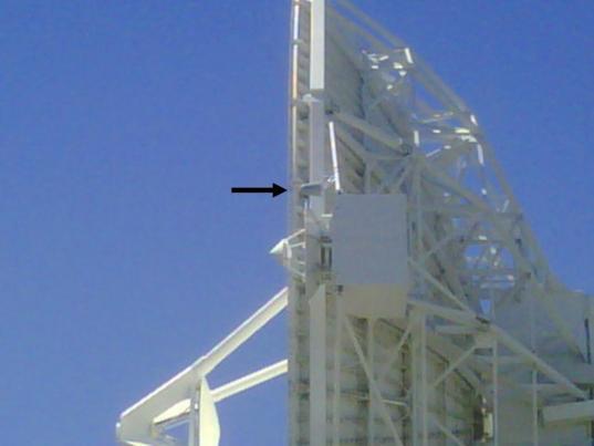 The Phobos-Grunt feedhorn