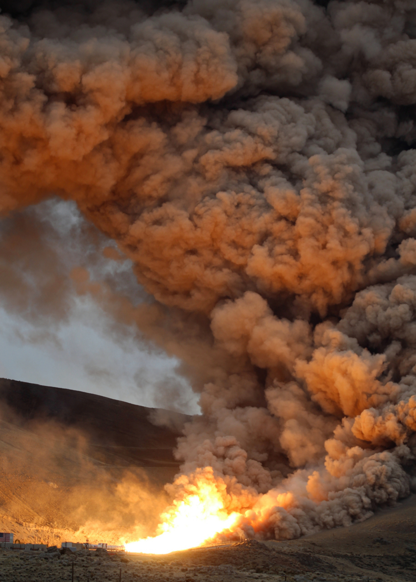 QM-1 fire and smoke (2015)