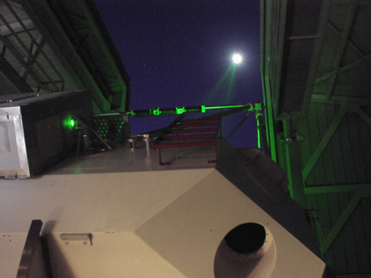 Shooting the Moon with the APOLLO laser