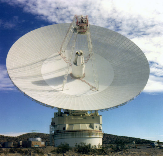 70-meter dish at Goldstone