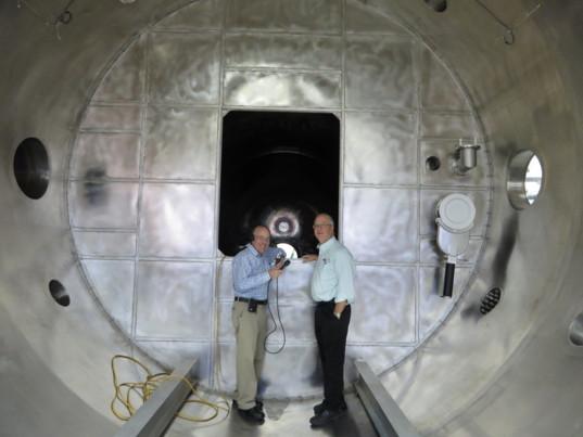 Ad Astra vacuum chamber