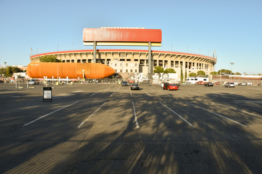 ET-94 at Los Angeles Memorial Coliseum