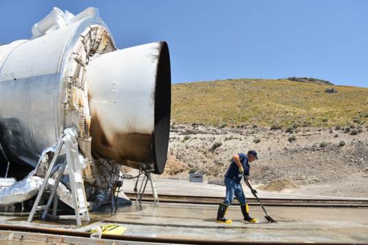 Cleaning up the QM-2 deluge
