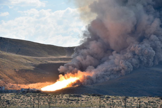 QM-2 test firing