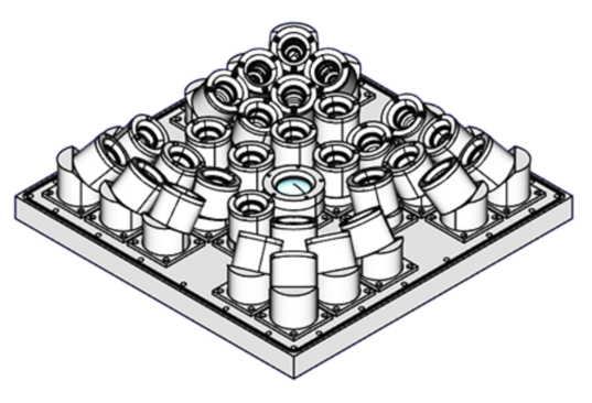 Schematic of the FEGS design