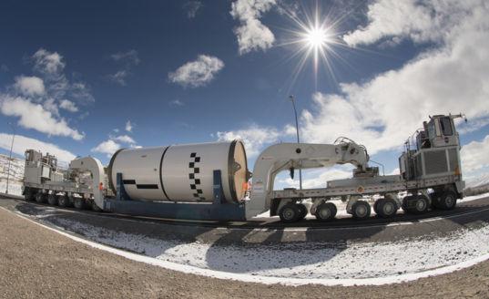 SLS EM-1 booster segment