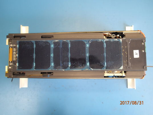 LightSail 2 closeout: -Y exterior panel