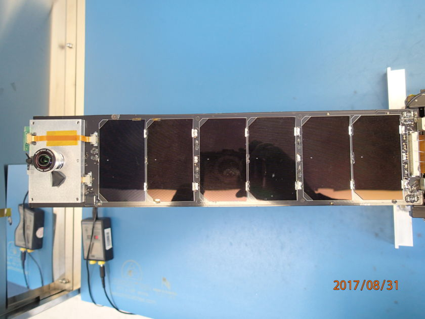 LightSail 2 closeout: +X interior panel