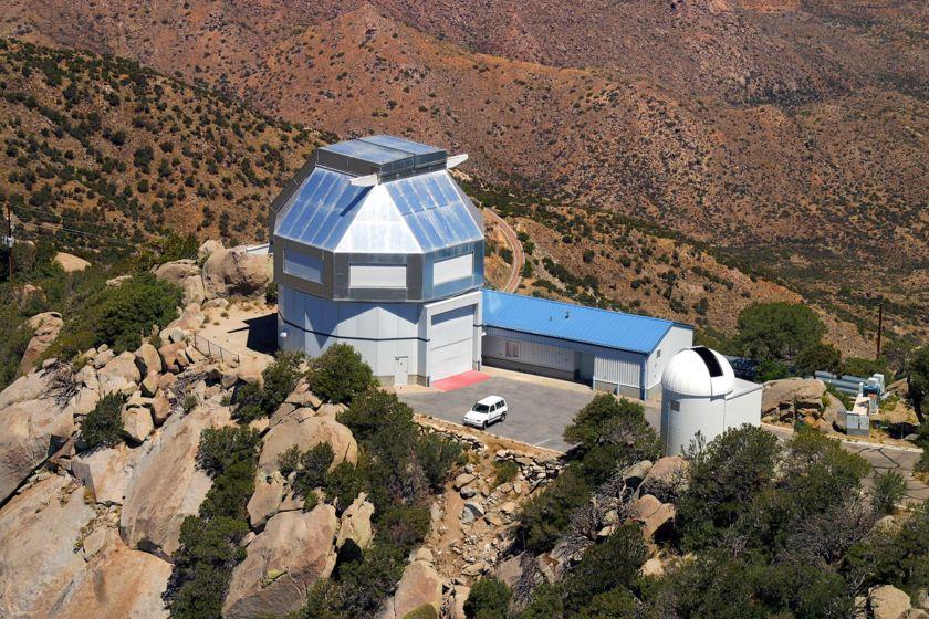 WIYN telescope aerial view