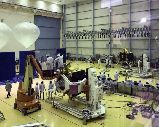 Chandrayaan-2 Assembly
