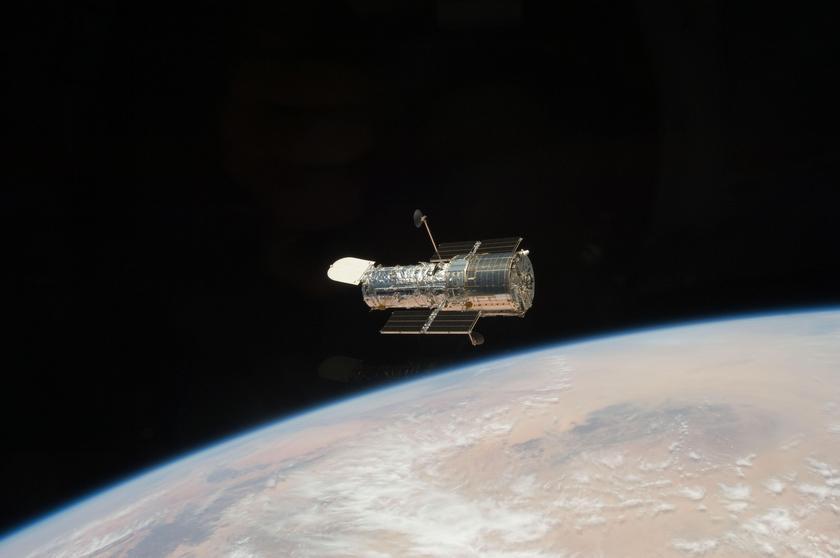 Hubble Drifts Away