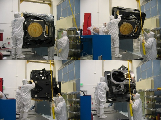 180-degree Flip for WorldView-1