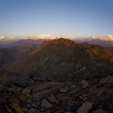 Gemini South, Andean Sunset