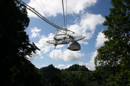 Arecibo Observatory telescope platform
