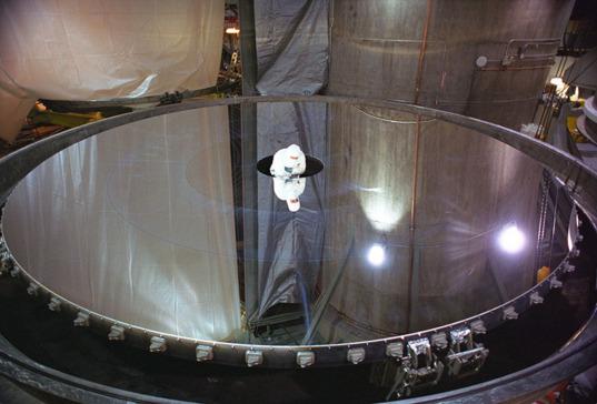 Gemini North telescope mirror