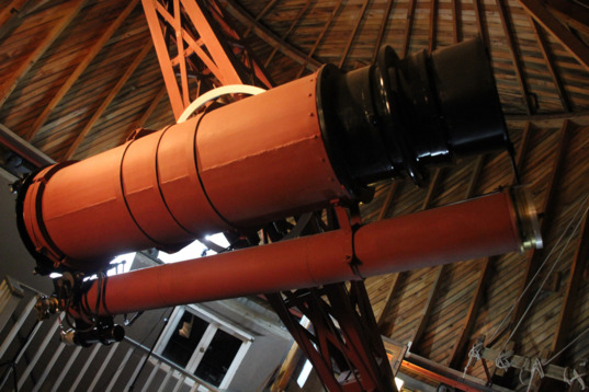 The telescope used to discover Pluto