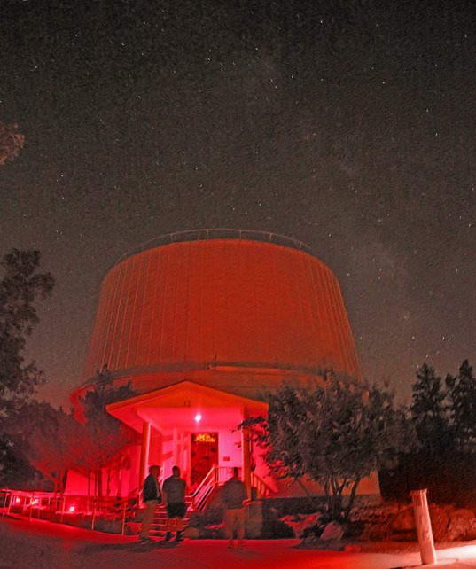 The Milky Way over Lowell Observatory