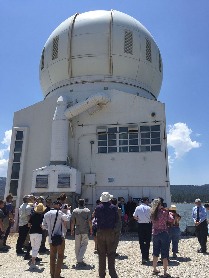 Big Bear Solar Observatory renaming attendees