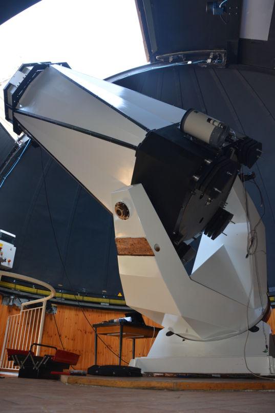 0.84-meter telescope at G.V. Schiaparelli observatory