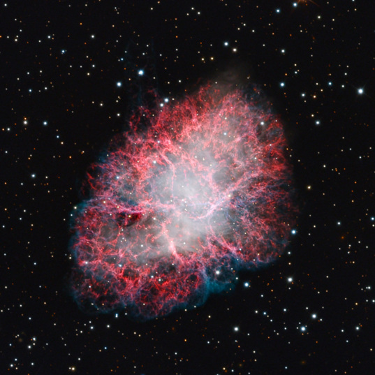 M1, the Crab Nebula, by the Mt. Lemmon Skycenter Schulman Telescope