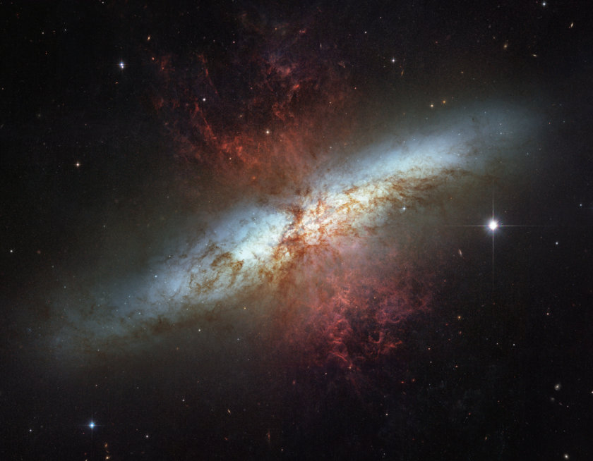 M82, the Cigar Galaxy
