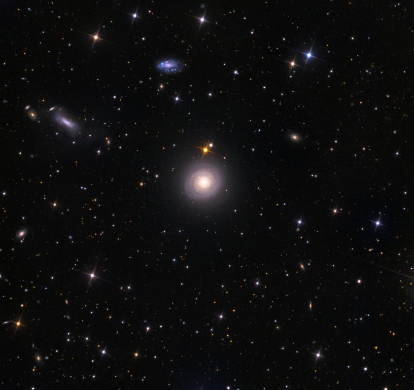 Mixing galaxies