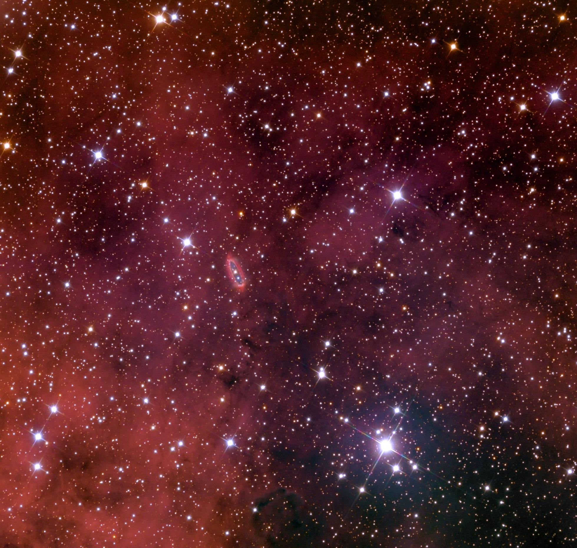 WeBo 1, a strange planetary nebula | The Planetary Society
