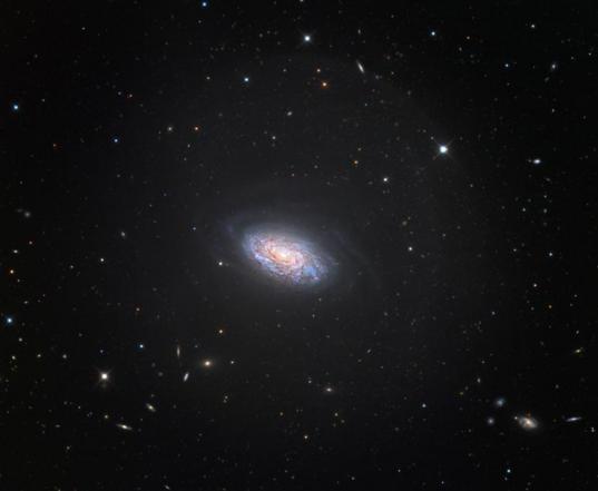 NGC 4414 spiral galaxy