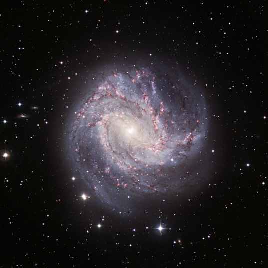 Barred Spiral Messier 83